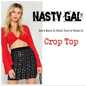 Nasty Gal Don't Knot It Until You've Tried It.